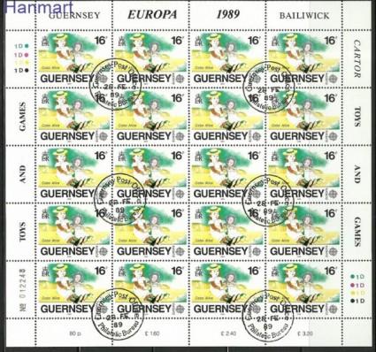 Znaczek Guernsey 1989 Mi 449-451 Stemplowane