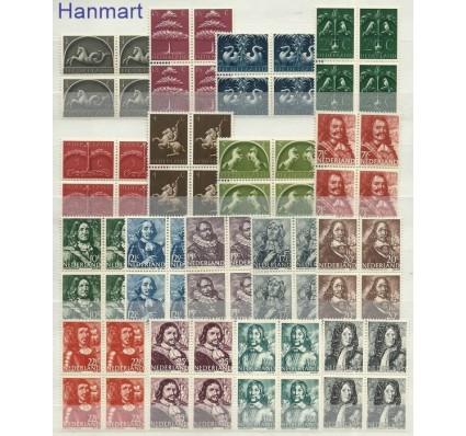 Znaczek Holandia 1943 Mi 405-421 Czyste **