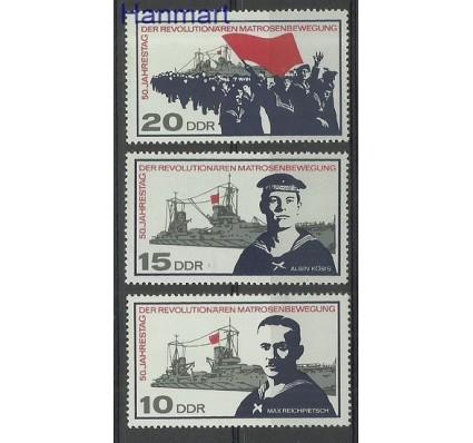 Znaczek NRD / DDR 1967 Mi 1308-1310 Czyste **