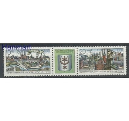 Znaczek NRD / DDR 1990 Mi 3338-3339 Czyste **