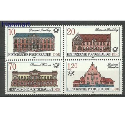 Znaczek NRD / DDR 1987 Mi 3067-3070 Czyste **