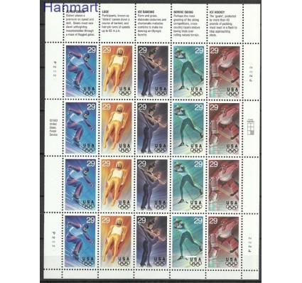 Znaczek USA 1994 Mi ark 2427-2431 Czyste **