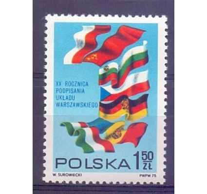 Znaczek Polska 1975 Mi 2377 Fi 2230 Czyste **