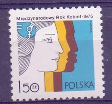 Znaczek Polska 1975 Mi 2397 Fi 2250 Czyste **