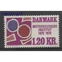 Dania 1972 Mi 521 Czyste **