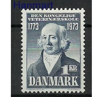 Znaczek Dania 1973 Mi 542 Czyste **