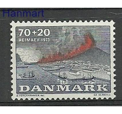 Znaczek Dania 1973 Mi 547 Czyste **