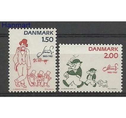 Znaczek Dania 1982 Mi 764-765 Czyste **