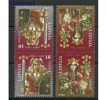 Znaczek Łotwa 1995 Mi 414-415 Czyste **