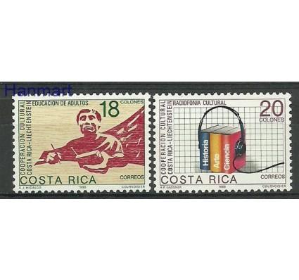 Znaczek Kostaryka 1988 Mi 1347-1348 Czyste **