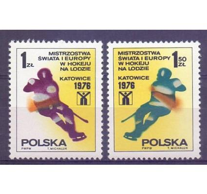 Znaczek Polska 1976 Mi 2439-2440 Fi 2292-2293 Czyste **
