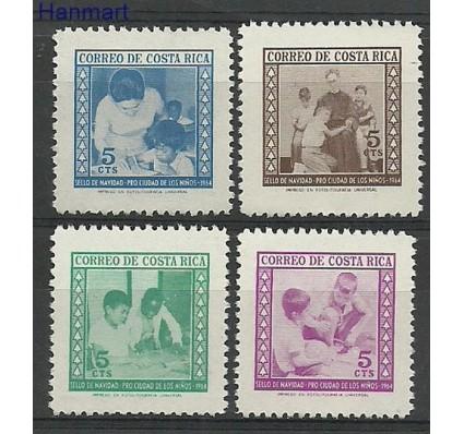Znaczek Kostaryka 1964 Mi 24-27 Czyste **
