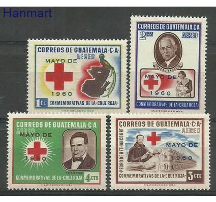 Znaczek Gwatemala 1961 Mi 659-662 Czyste **