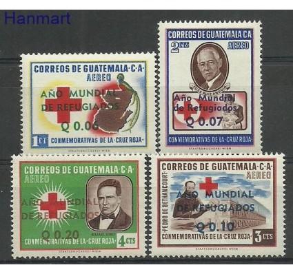 Znaczek Gwatemala 1960 Mi 647-650 Czyste **