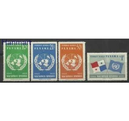 Znaczek Panama 1958 Mi 517-520 Czyste **