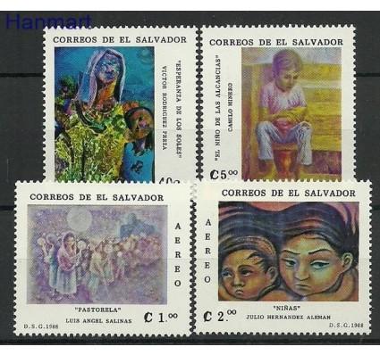 Znaczek Salwador 1988 Mi 1717-1720 Czyste **
