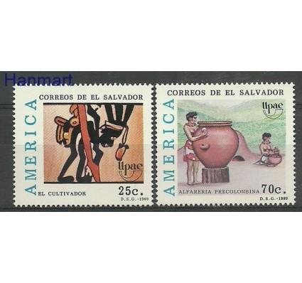 Znaczek Salwador 1989 Mi 1770-1771 Czyste **