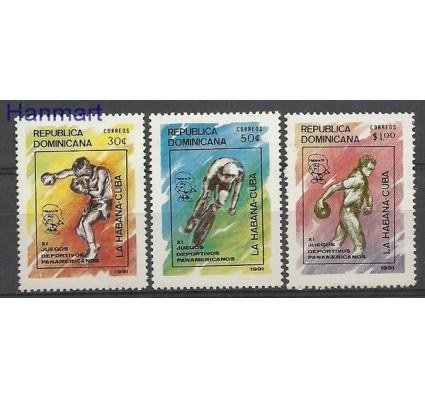 Znaczek Dominikana 1991 Mi 1631-1633 Czyste **