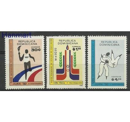 Znaczek Dominikana 1992 Mi 1662-1664 Czyste **