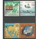 Egipt 1966 Mi 829-832 Czyste **