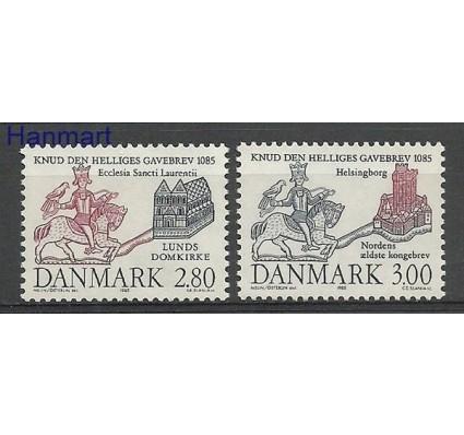 Znaczek Dania 1985 Mi 840-841 Czyste **