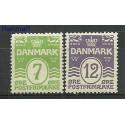 Dania 1926 Mi 166-167 Z podlepką *