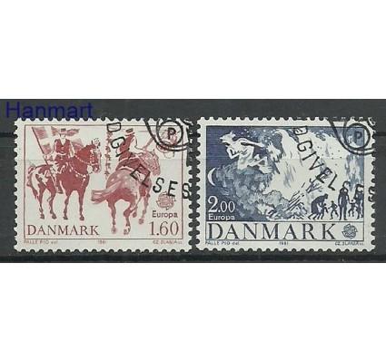 Znaczek Dania 1981 Stemplowane