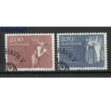 Znaczek Dania 1982 Stemplowane