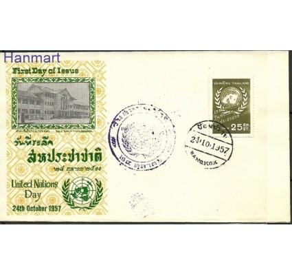 Znaczek Tajlandia 1957 FDC