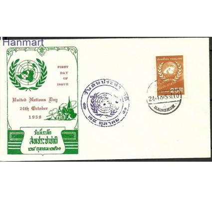 Znaczek Tajlandia 1958 FDC