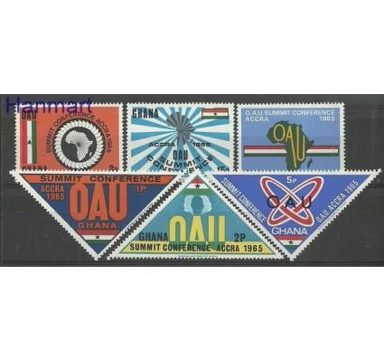 Znaczek Ghana 1965 Mi 237-242 Czyste **