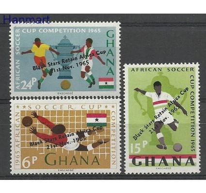 Znaczek Ghana 1965 Mi 243-245 Czyste **