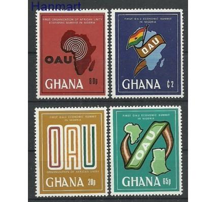 Znaczek Ghana 1980 Mi 852-855 Czyste **