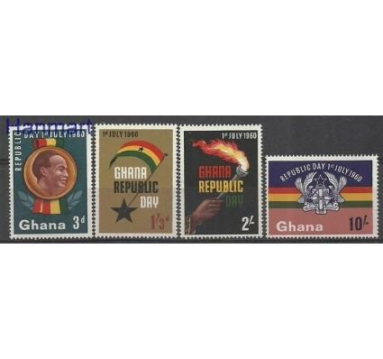 Znaczek Ghana 1960 Mi 80-83 Z podlepką *