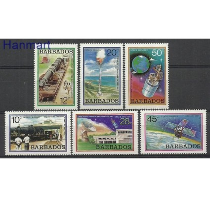 Znaczek Barbados 1979 Mi 482-487 Czyste **