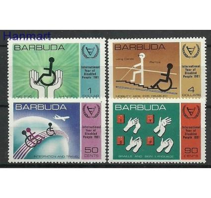 Znaczek Barbuda 1981 Mi 572-575 Czyste **