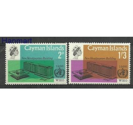 Znaczek Kajmany 1966 Mi 185-186 Czyste **