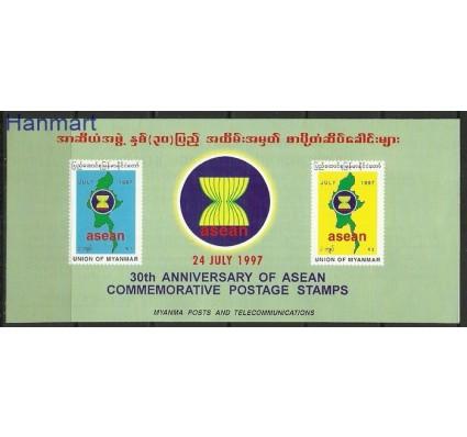 Znaczek Myanmar 1997 Mi 338-339 Karta Max