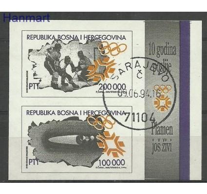 Znaczek Bośnia i Hercegowina 1994 Mi bl 1 Stemplowane