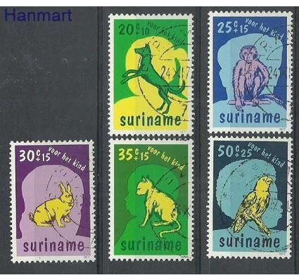 Znaczek Surinam 1977 Stemplowane