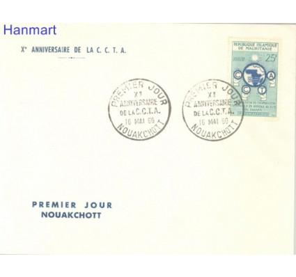 Znaczek Mauretania 1960 Mi 162 FDC