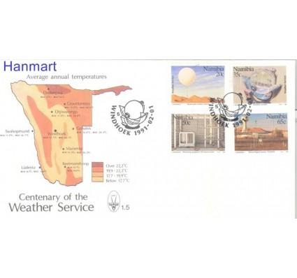 Znaczek Namibia 1991 Mi 698-701 FDC