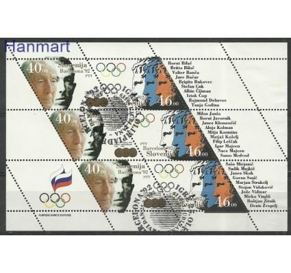 Znaczek Słowenia 1992 Mi 27-28 Stemplowane