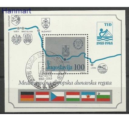 Znaczek Jugosławia 1985 Mi bl 26 Stemplowane