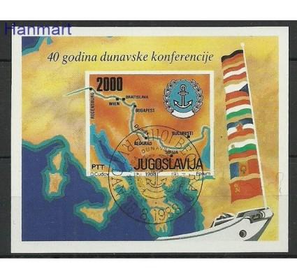Znaczek Jugosławia 1988 Mi bl 33 Stemplowane