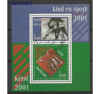 Znaczek Surinam 2001 Stemplowane