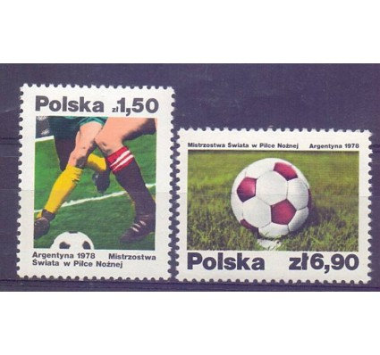 Polska 1978 Mi 2557-2558 Fi 2410-2411 Czyste **