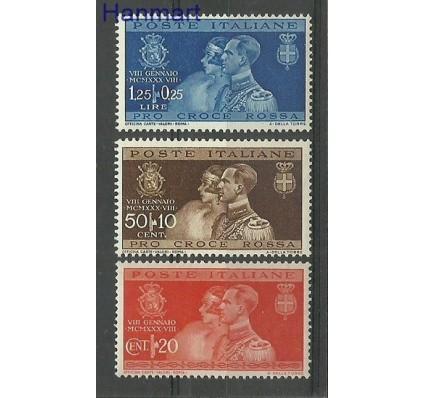 Znaczek Włochy 1930 Mi 325-327 Czyste **