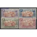 Włochy 1923 Mi 161-164 Z podlepką *