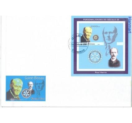 Znaczek Gwinea Bissau 2001 FDC
